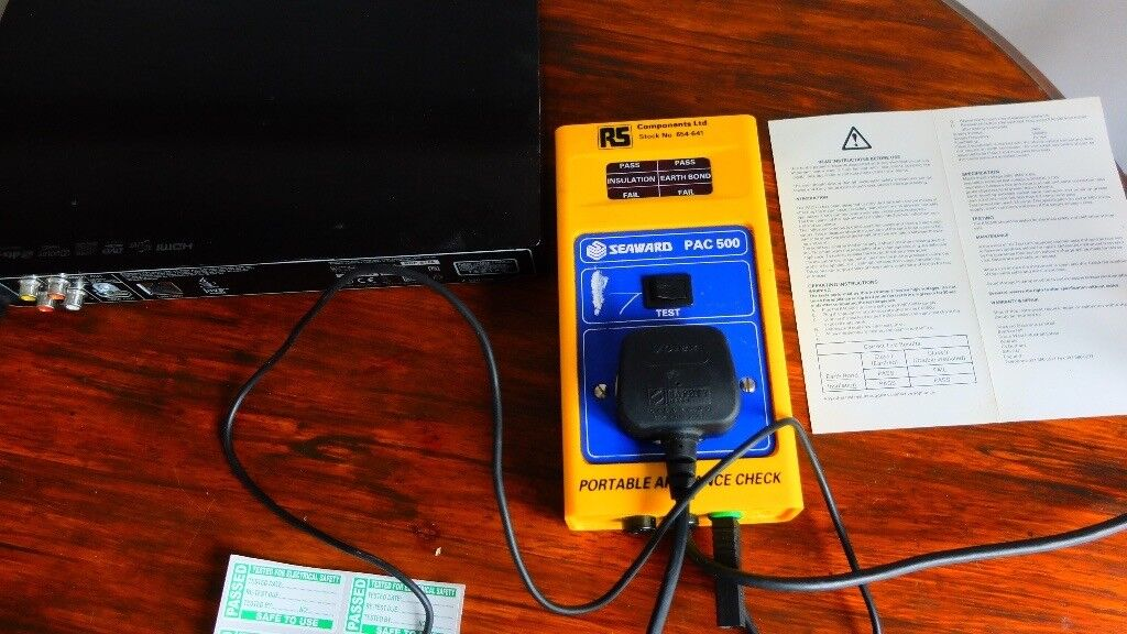 Seaward PAC 500 PAT Safety Tester Portable Appliance Check Professional  Electrical Test Business | in Alvaston, Derbyshire | Gumtree