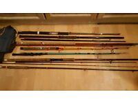 Fishing rods joblot
