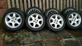 MG wheels and tyres 205. 50 R15