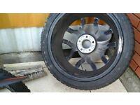 audi a8 alloy wheels +tyres