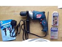 Hammer Action Drill, Barely used