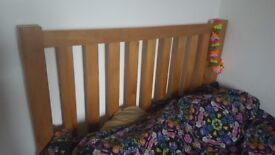 Wooden bed frame - great condition