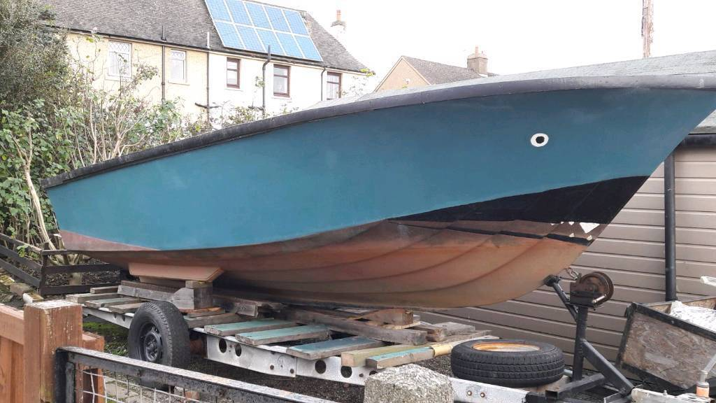 18ft Boat and Trailer