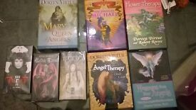 tarot cards and angel cards