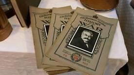 Antique WW1 war magazine 1915