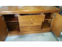 Retro sideboard / office chair/fire extinguishers/ventilation duction
