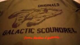 Pre-owned Adidas Han Solo Millenium Falcon Flight jacket