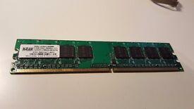 RAM (2x1GB) and 1x512MB Desktop RAM