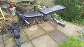 Weight lifting bench, 3 incline settings