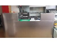 nice stainless steel counter for sale