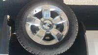 2015 chevy 1500 ltz stock rims and tires