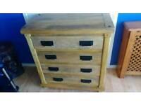Draws dresser