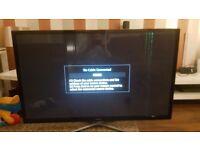 "Samsung 60"" 3D smart television"