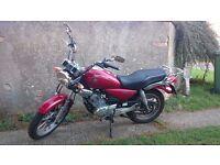 2013 Yamaha YBR 125 Custom