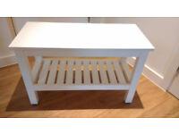 IKEA bench - HEMNES, White (L: 83 cm, W: 37 cm, H: 53 cm)