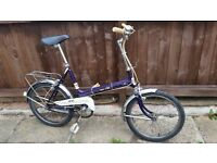 Puch Quality Shopper Style City Bike - Well Equipped and Great Working Order