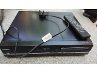Toshiba VHS to DVD recorder and player with freeview. Model D-VR18DT-K-TB - £50