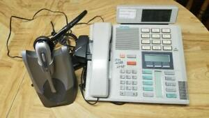 Nortel Head Set and phone