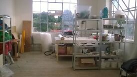 ceramic studio space/ workshop/ creative space for share
