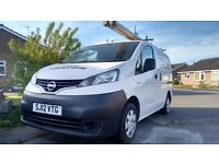 Nissan Nv 200 Se. 2012 110ps 1 previous owner from new.. 11 months mot 2x brand new tyres.