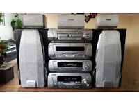 TECHNICS HI-FI stereo sa-dv 290 DVD MP3 WMA DTS