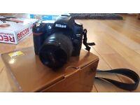 Nikon D80 & Nikon AF G 28-80mm f/3.3-5.6 AF G Lens