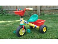 Colourful Plastic Children's Tricycle
