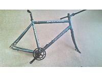 Carrera Gryphon City Hybrid Road Bike Disc Alu Frameset
