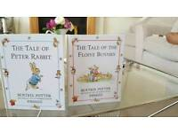 Lovely collection of peter rabbit books