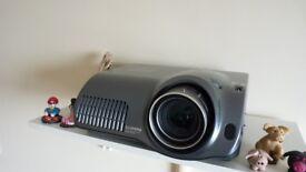 Hitachi Illumina PJ-TX 200 HD home cinema projector+ new spare bulb, immaculate condition