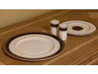 Royal Doulton Dinner Plates, tea plates and salt and pepper set