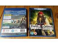 Pirates of the Caribbean Blu-ray Collection Like New