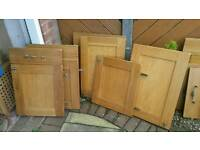Solid wood kitchen doors and drawers