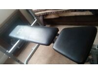 Star Shaper Bench Press And Cast Iron Weights Complete Set ...