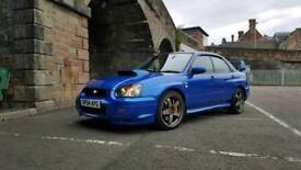Subaru wrx sti UK prodrive