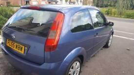 Ford Fiesta in blue