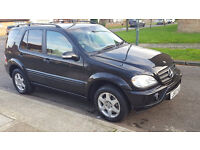 Mercedes 4x4 ML 350 Limited Ed (Wide body) with LPG conversion! ****Low Miles****