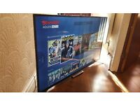 "SHARP 55"" Smart ULTRA SLIM HD led TV-55CFE6352,built in Wifi,Freeview & FREESAT HD,GREAT Condition"