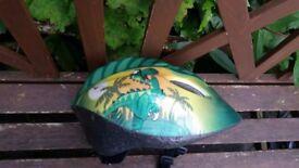 Dino Child bike helmet.