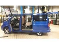 Vw tranporter shuttle 2.5 Automatic 9 seats 2006