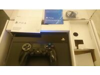 PS4, boxed, 2 games