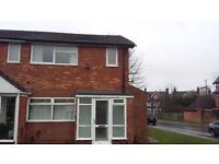 THREE BEDROOM END TERRACE HOUSE EASY ACCESS TO CITY CENTRE AND M6 JUNCTION 7 ONLY £695.00