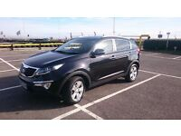 Kia Sportage 2013 Black low milage