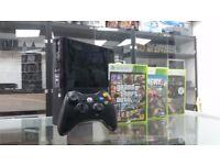 XBOX 360 Super Slim 500GB HD 3x Games