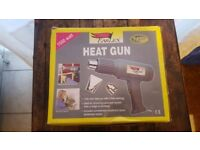 Hot Air Gun. Rarely used. With fittings and instructions