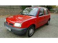 NISSAN MICRA AUTOMATIC RED CAR *FAULTY GEAR STICK/BOX* MOT OCT 2017