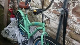 Green Vintage Style Carmen Bicycle