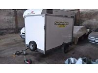 Box Trailer - Single Axle - Ideal for Motorbikes / Racing / Trackdays