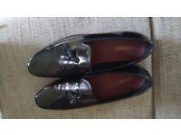 Black Patent Men's Dress Shoes