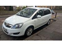 Vauxhall Zafira EXCLUSIV CDTI ECOFLEX Diesel white, low mileage 37968